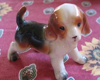 Adorable Vintage Beagle Figurine