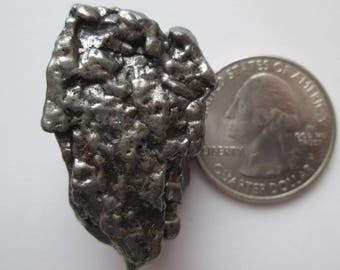 38.51 Gram Campo Del Cielo Argentina Meteorite, Iron from Outer Space # TM 3125