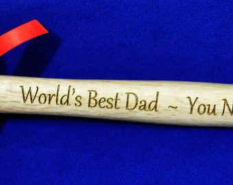 Christmas Gift For Dad ~ Husband Gift ~ Engraved Hammer ~ Gift For Husband ~ Father Of Groom ~ Father Of Bride ~ Best Dad Gift ~ Christmas