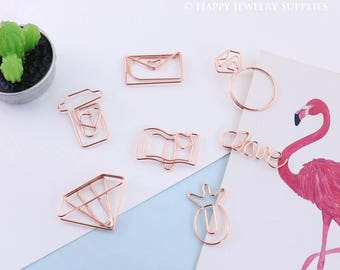 All Kinds of Geometric Animal Graphic Creative Paper Clips / 24 Kinds of Shapes to Choose (C07)