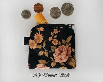 Mini Coin Purse  / Fabric Coin Purse / Key ring pouch