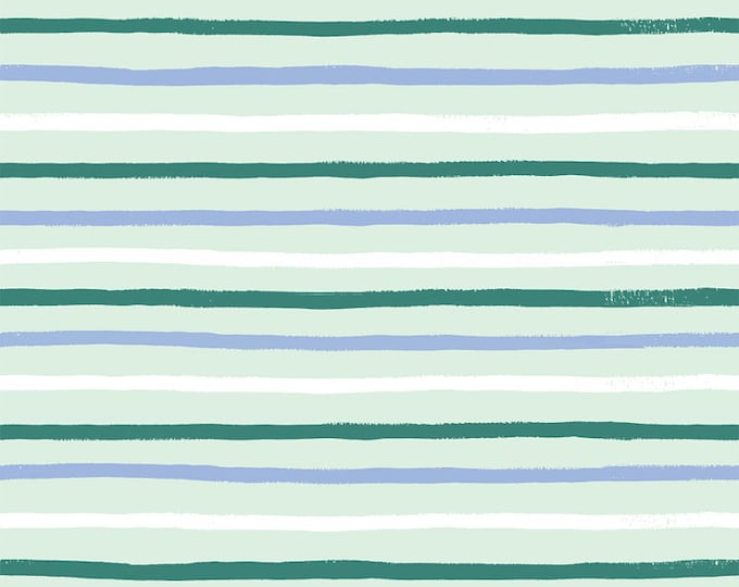 PRESALE: Stripes (mint fabric) from English Garden by Rifle Paper Co.