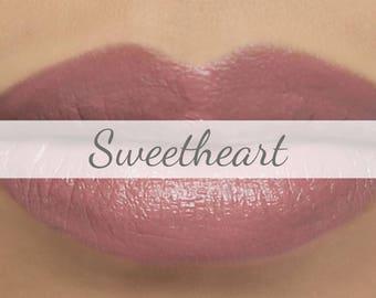 "Lipstick Sample - ""Sweetheart"" light pink - natural vegan lip color"