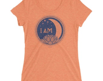 I Am Sun Moon Earth Infinity Ladies' Short Sleeve T-shirt