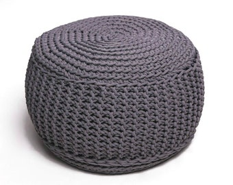 16 colors MAP POUF /floor cushion/ hypoalergic pouf/rope  poof/bean bag chair/ Ottoman