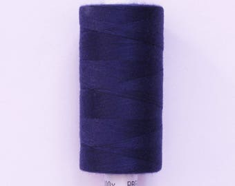Moon 915 meters polyester sewing thread: Navy - 2577