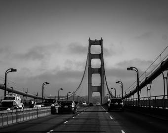 Photographie On the Road - Golden Gate Bridge, San Francisco