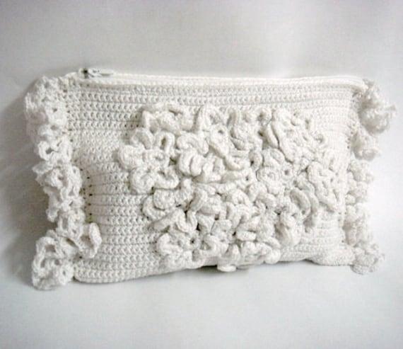Crochet Clutch Pattern Wedding Bridal Purse Diy Tutorial