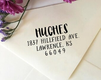 Address Stamp, Custom Return Address Stamp, Self Ink Stamp, Eco Rubber Stamp, Personalized Address Stamp, Save The Date Stamp, Wedding Stamp