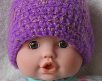 Preemie baby girl hats/hat sets size 1-4 pounds