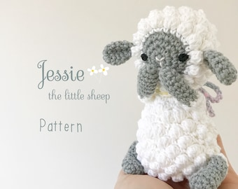 Amigurumi Duck Tutorial : Pattern sheep amigurumi lamb crochet tutorial with photos
