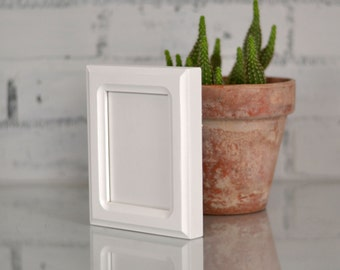 """3.5x4.5"""" ACEO or Wallet Size Picture Frame in Double Cove Style and in Color of YOUR CHOICE - Wallet Photo Frame"""