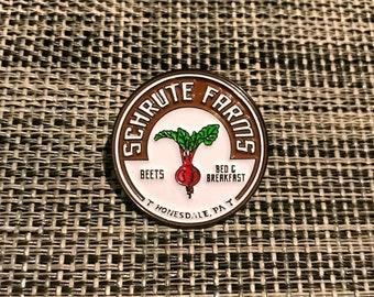 Schrute Farms - Enamel Pin