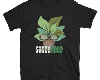 GardeNerd Gardening Gardener Fathers Day Gift T Shirt