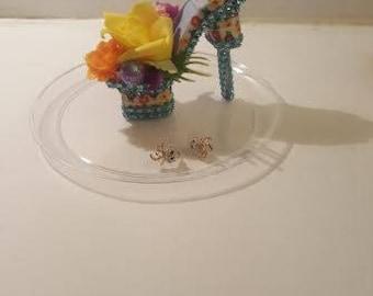 Handmade mini decor shoe