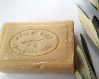 Greek olive Oil soap With Massalias perfume  100% Natural from lesvos Handmade traditional