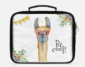 Llama Lunch Bag Insulates Lunch Box Llama Lunch Box Lunch Tote School Lunch Insulated Lunch Bag Lunchbox For Kids Lunchbox For Adults Funny