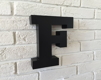 letters Finished letter of metal wall decor letters, letter wall,metal wall letters, large wall letters
