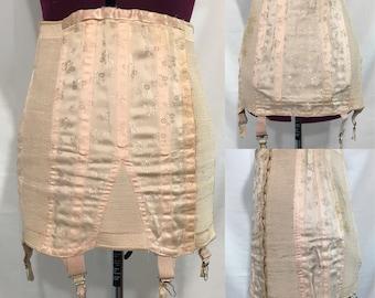 "1940's   Vintage Franco   Girdle Corset   ""Hallmark of fine corsetry"""