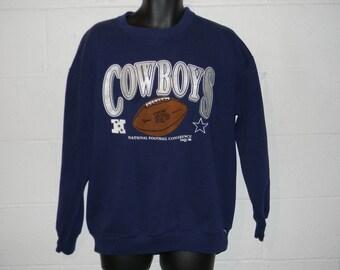 Vintage 90s Dallas Cowboys Proline Crewneck Sweatshirt L/XL