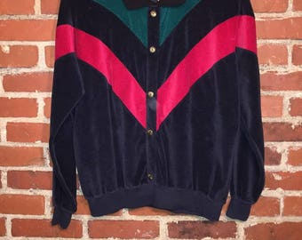 fantastic 70's velour sweatshirt