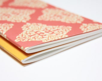 Notebook Jotter Sketchbook . Set of 2 Sketchbooks . Travelers Notebook Insert Travel Journal Agenda Diary Planner Midori Fauxdori . Lists