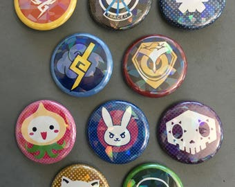 Overwatch Holographic Buttons