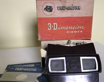View-master 3-d dimension viewer