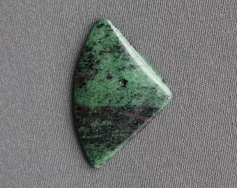 Ruby in Zoisite Stone Cabochon