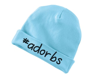 Adorbs Funny Cotton Beanie For Infants