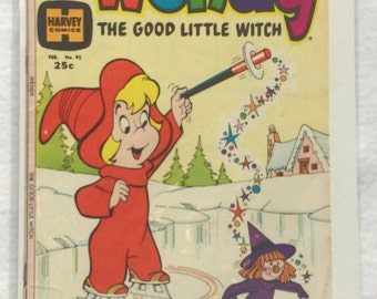 Wendy The Good Little Witch Comic No. 92 Feb 1975