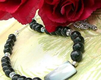Black Cats Eye Necklace