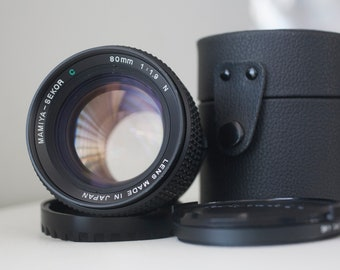 Mamiya 80mm f1.9 Medium Format Lense