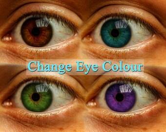 Photo Eye Colour change + retouching