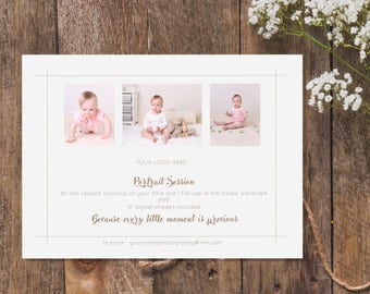 Baby Photography Advert