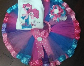 My Little Pony Pinkie Pie Birthday Tutu set