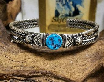 Beautiful Sterling Silver Navajo bracelet