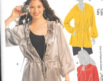 McCall's Pattern 5635 ANORAK JACKET  Misses Sizes 14 16 18 20