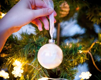 Handmade Glass Christmas Baubles