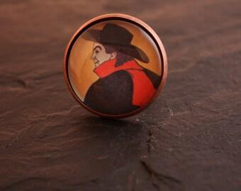 aristide bruant cabochon ring