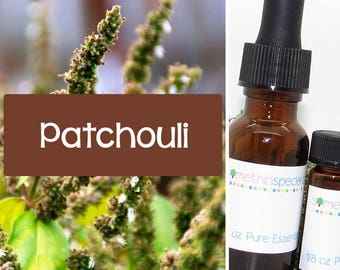 Patchouli Pure Essential Oil, 100% Certified Pure Essential Oil, Patchouli Oil, Pure Patchouli, Patchouli Pure Oil, Aromatherapy Oil