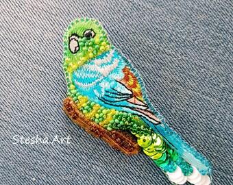 Brooch  Parrot