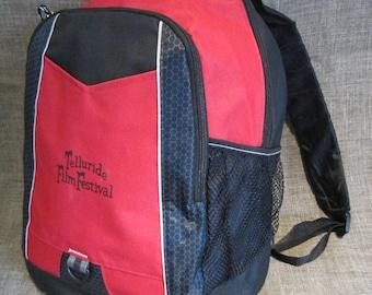 Telluride Film Fest Volunteer's Back Pack