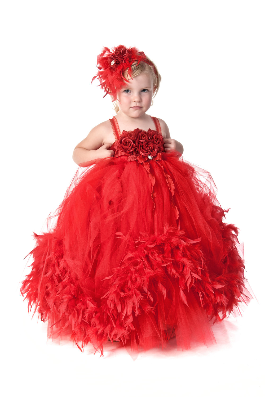 Flower Girl Dress tutu dress custom made to order couture