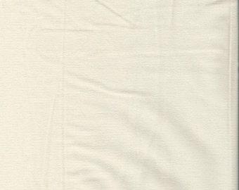 "RALPH LAUREN  Cream/ Off-White Stretch Corduroy Fabric. 55"" wide."