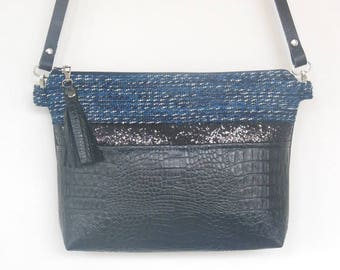 Black & Blue bag