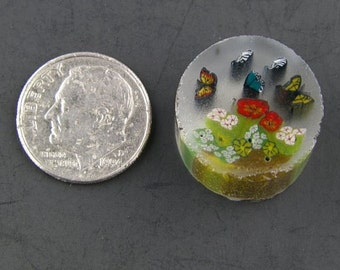 The Butterfly Garden by Greg Chase Murrine Boro Cane 6 grams - 125 C