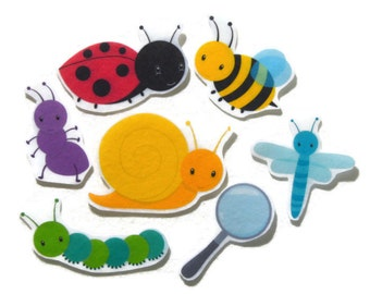 Felt board, Felt Bugs, Felt Insects, homeschool, felt board pieces, flannel board, felt board story, quiet book, busy book, feltboard story