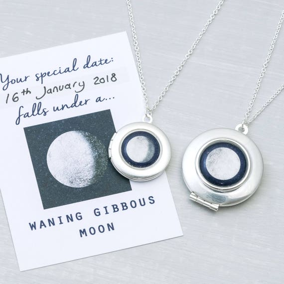 Moon Phase Locket