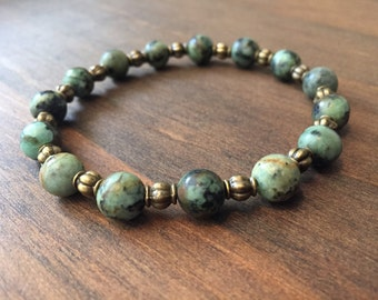 african turquoise, bohemian bracelet, hippie bracelet, boho bracelet, rustic jewelry, boho jewelry, charity bracelets, proceeds to charity.